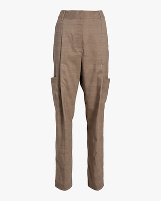Divine Heritage Front Pleated Pants 1
