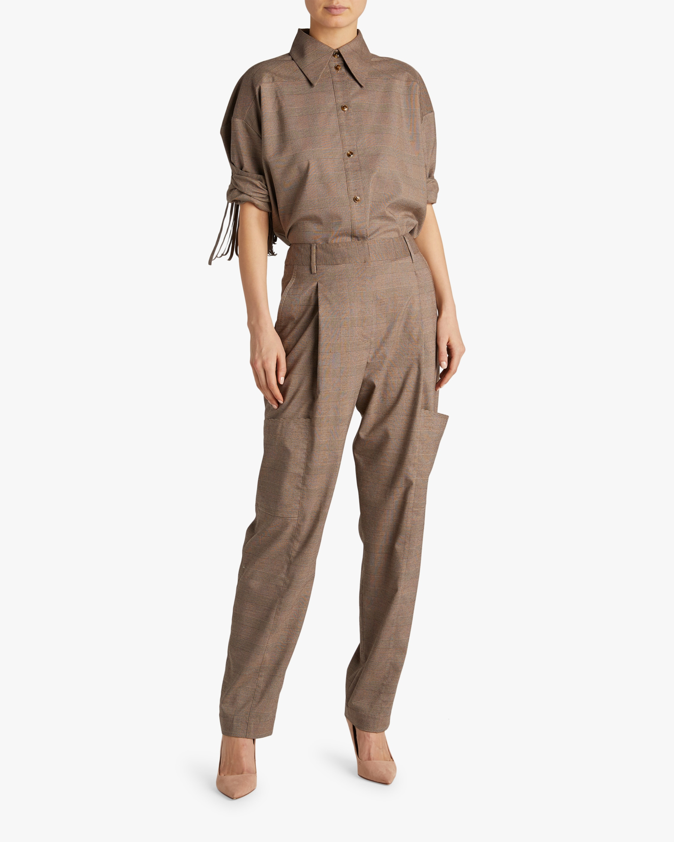 Divine Heritage Front Pleated Pants 2