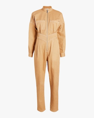 Front-Zip Jumpsuit