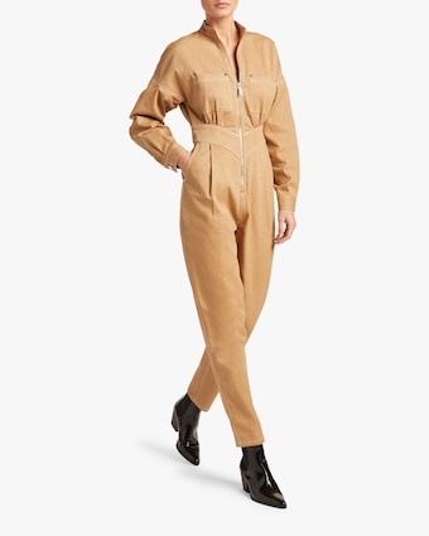 Front-Zip Jumpsuit