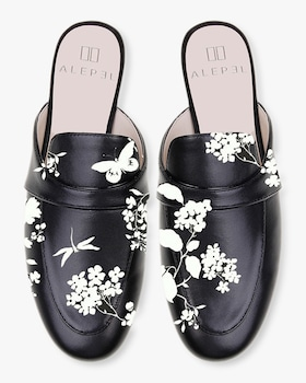 Floral Mules