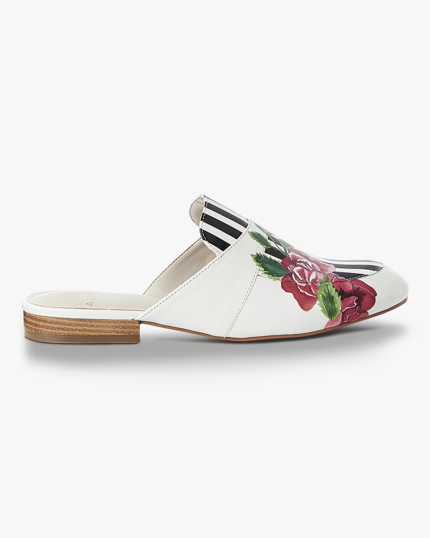 Rose Stripe Mules Alepel