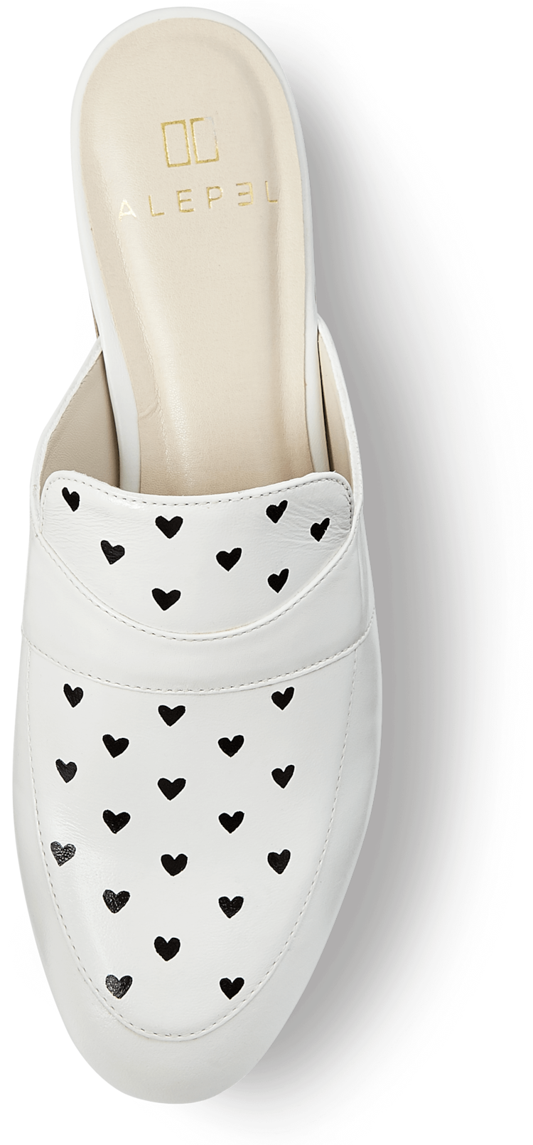 Heart Print Mules Alepel