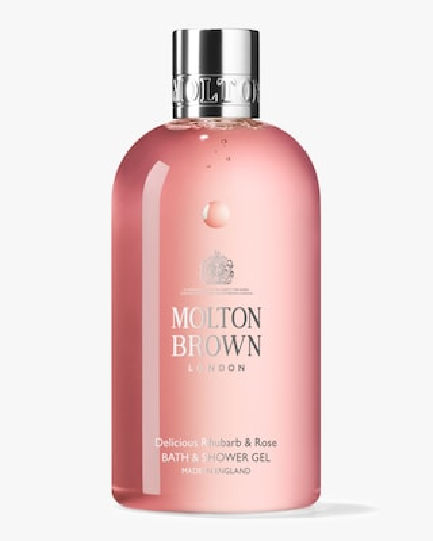 Molton Brown Delicious Rhubarb & Rose Bath & Shower 300ml 2