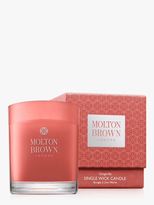 Molton Brown Gingerlily Single Wick Candle 1