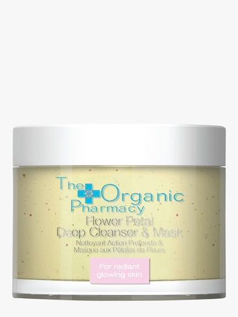 The Organic Pharmacy Flower Petal Deep Cleanser & Mask 1
