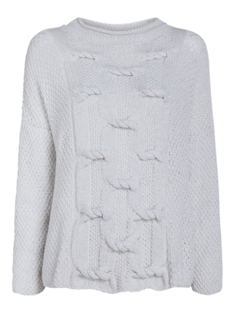 Ebree Mockneck Cashmere Sweater