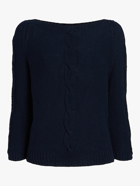 Aram Open Cable Cashmere Sweater
