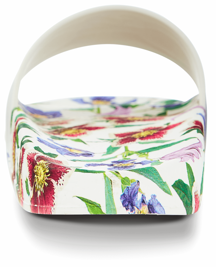 Groove Flower Slide Salvatore Ferragamo