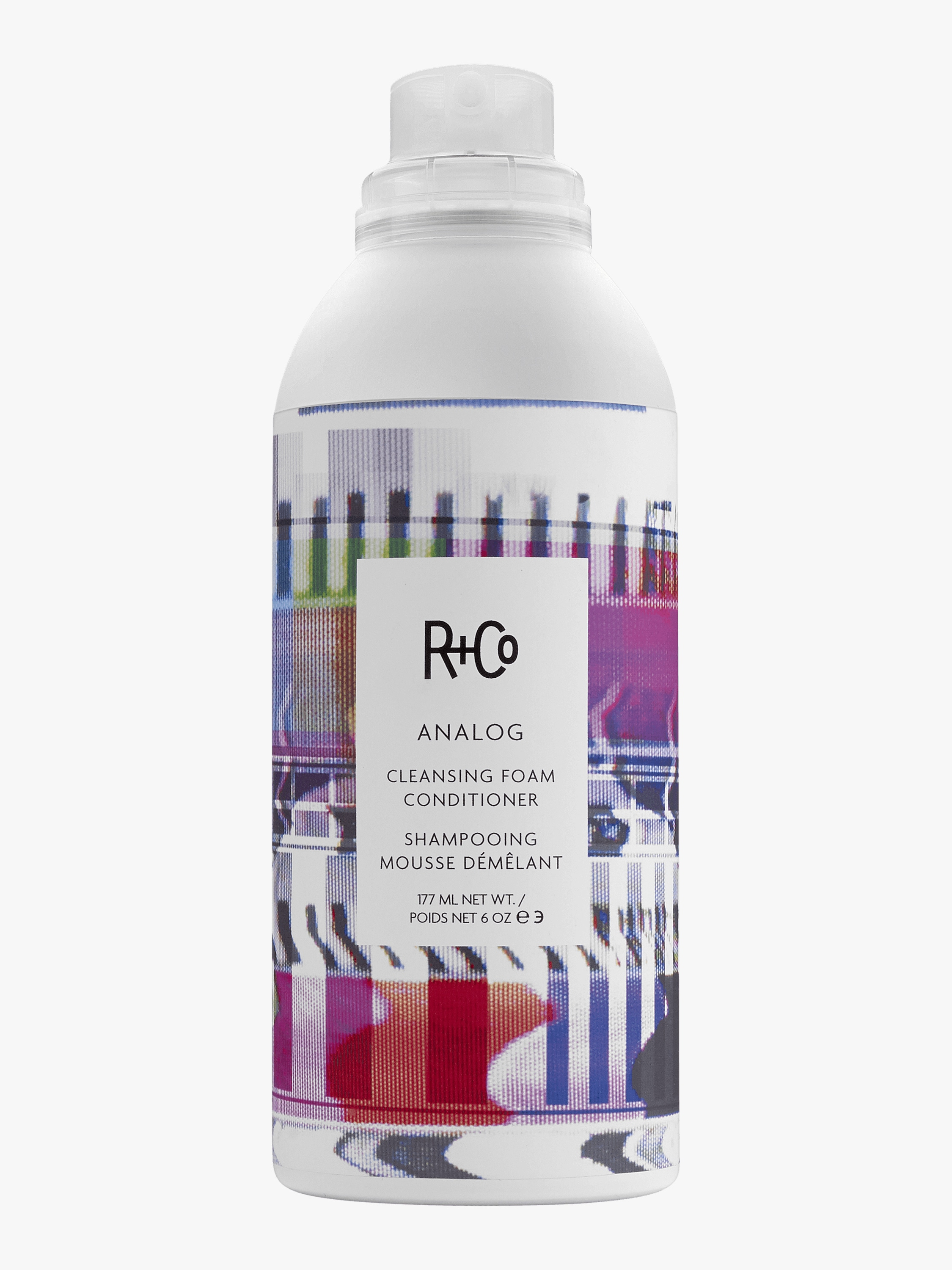 R+Co Analog Cleansing Foam Conditioner 177ml 2