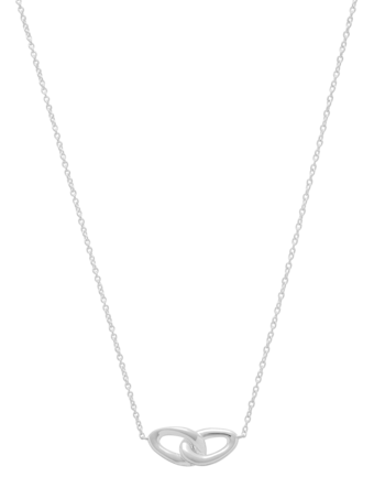 Cherish Interlocking Link Necklace