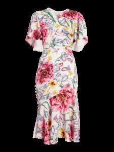 Victoria Flutter Sleeve Dress