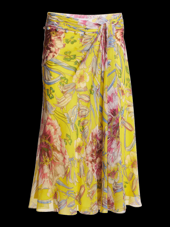 Moore Side Twist Front Skirt