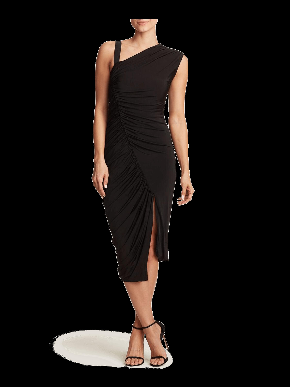 Sleeveless Asymmetrical Cocktail Dress