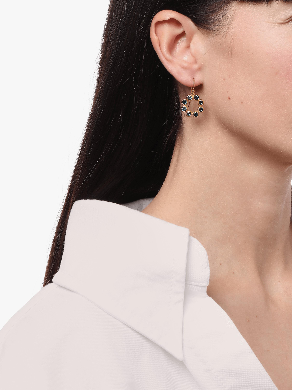 Pointelle Hue Single Drop Earrings