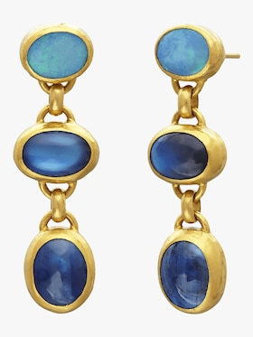 Limited Edition Triple Amulet Hue Earrings