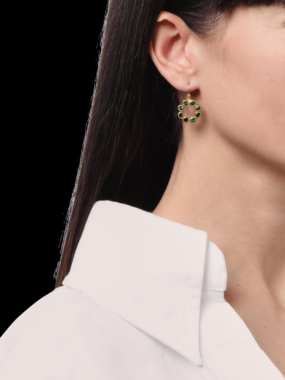 Pointelle Hue Drop Earrings
