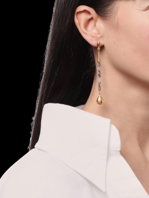 Long Delicate Flurries Earrings