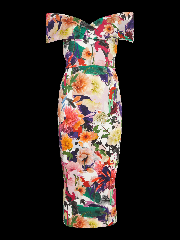 Alba Off-The-Shoulder Dress
