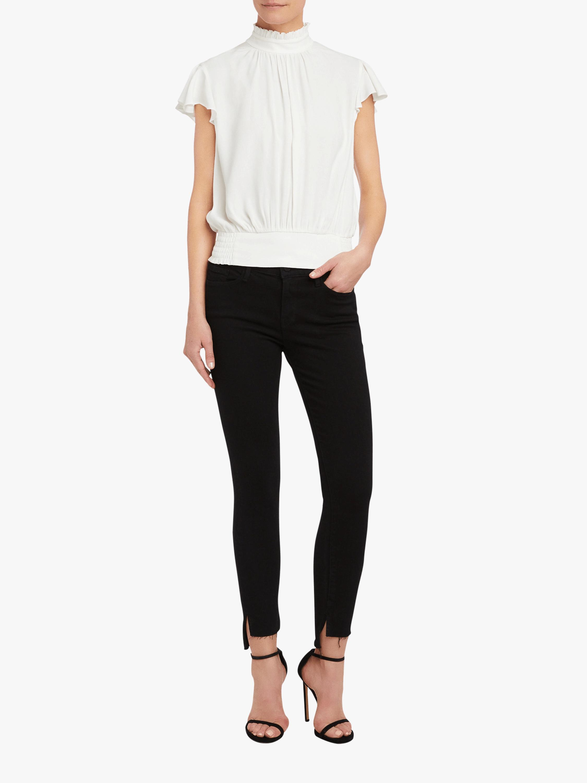 Frame Le Skinny De Jeanne Stagger Jeans 2
