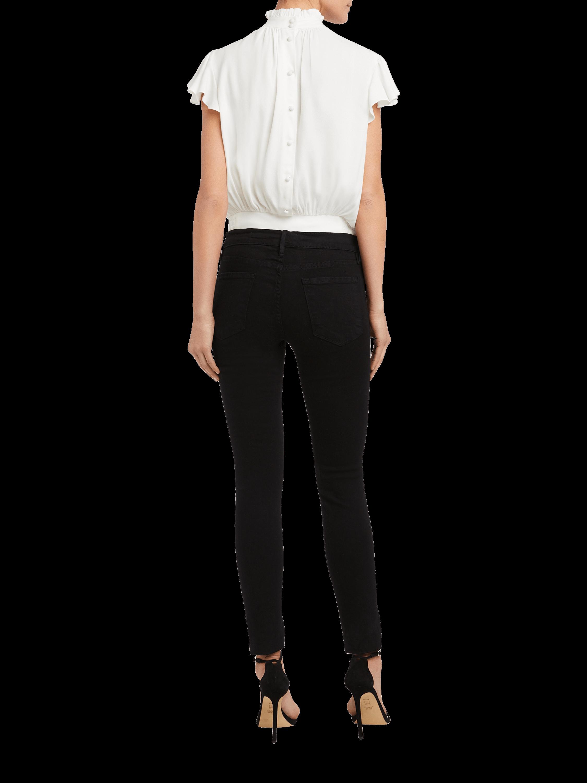 Le Skinny De Jeanne Stagger Jeans Frame