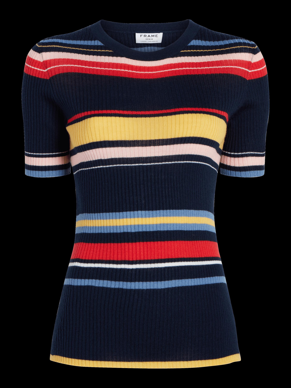 Short Sleeve Crew Sweatshirt