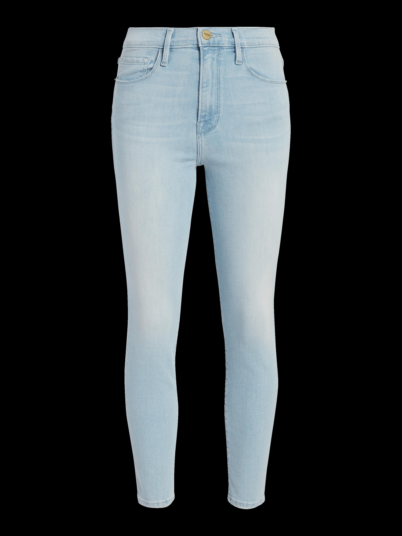 Ali High Rise Skinny Cigarette Jeans