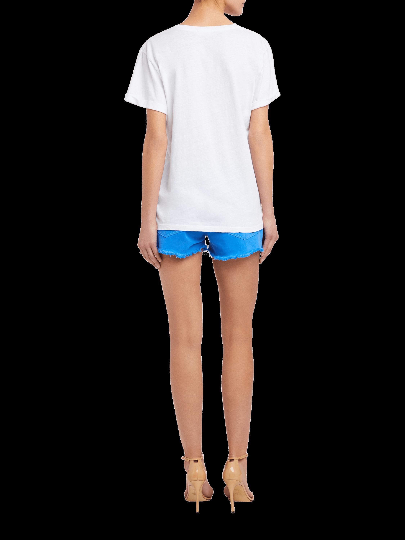 Cuffed V-Neck T-Shirt Frame