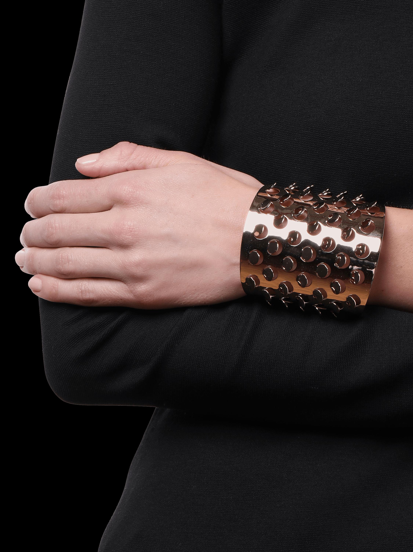 Grater Cuff Bracelet