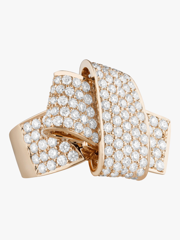 Carelle Jumbo Knot Ring 0