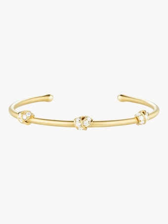 Carelle Multi Knot Diamond Bangle 2