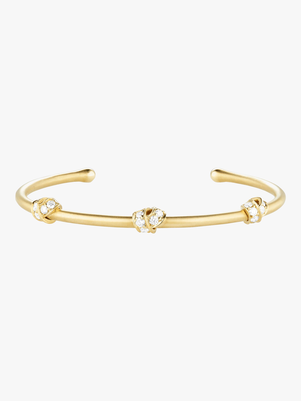 Carelle Multi Knot Diamond Bangle 2