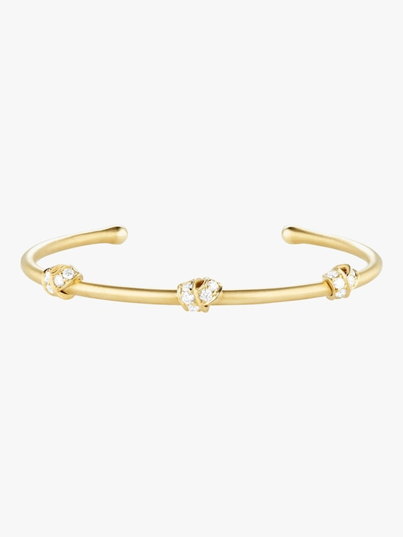 Carelle Multi Knot Diamond Bangle 0