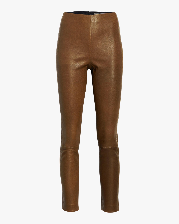 rag & bone Simone Leather Pants 0