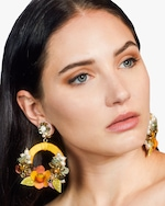 Ranjana Khan Mariah Clip-On Earrings 1
