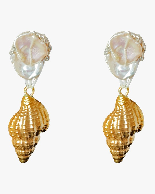 Ranjana Khan Dries Clip-On Earrings 0