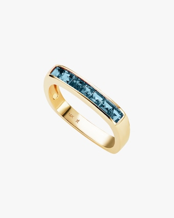 Topaz Square Stacking Band