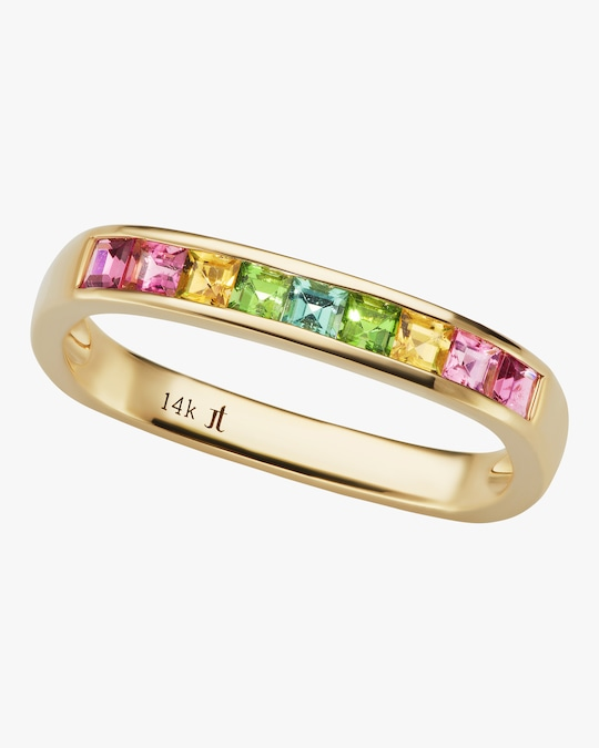 Jane Taylor Tourmaline Square Stacking Band 0