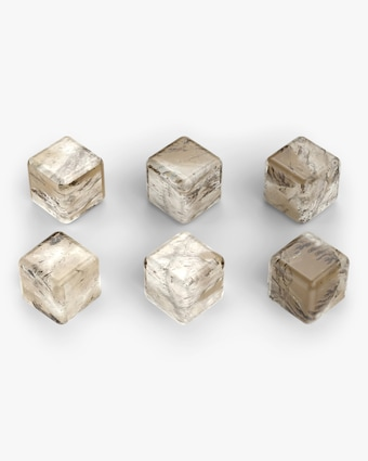 ANNA New York Vida Whiskey Cubes Set of 6 1