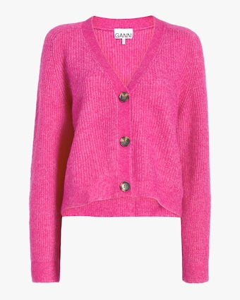 Wool-Knit Cardigan