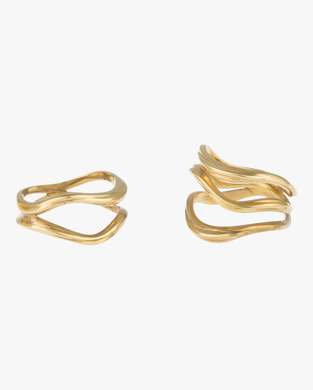 Joanna Laura Constantine Feminine Waves Ring Set 0