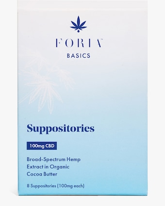 FORIA Basics Menstrual Suppositories 1