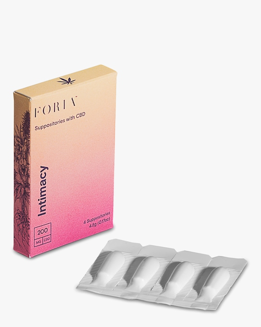 FORIA Intimacy Suppositories 0