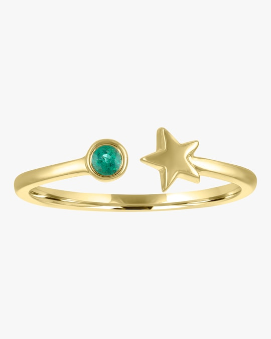 My Story Emerald Star Ring 0