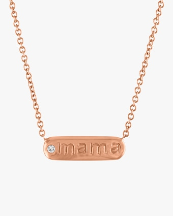 Petunia Mama Bar Necklace