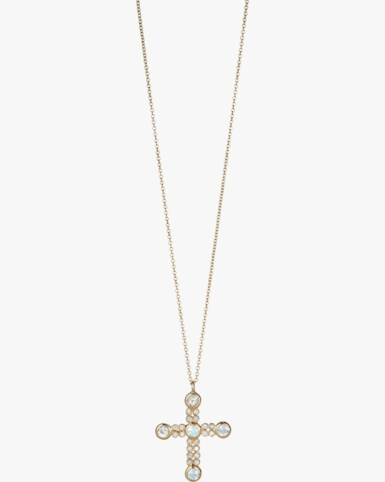 Suel Cross Pendant Necklace 0