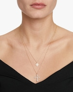 Suel Cross Pendant Necklace 1