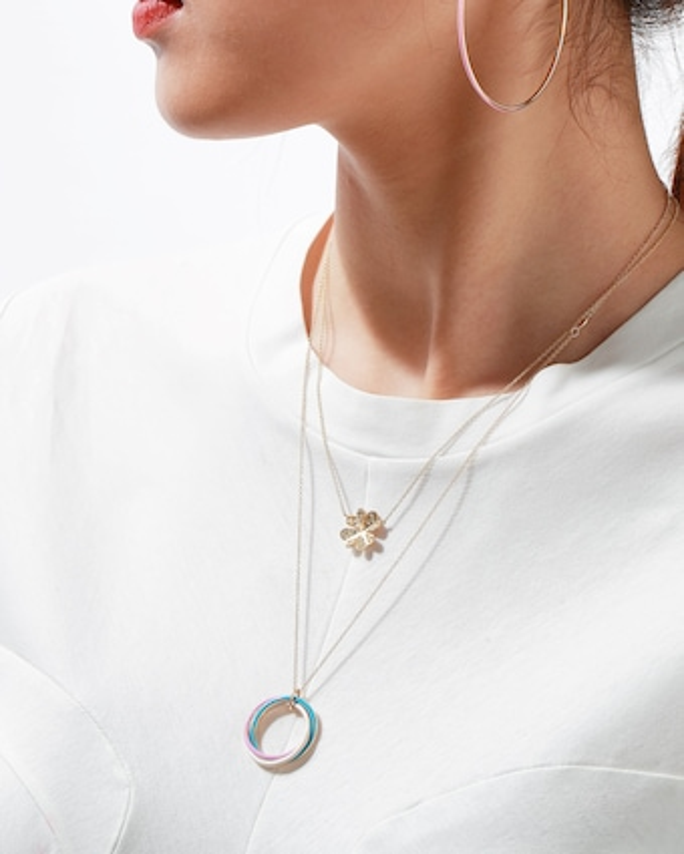 Trinity Enamel Necklace