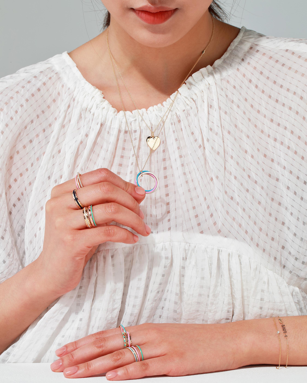 Suel Trinity Enamel Necklace 2