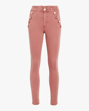 The High-Rise Skinny Ankle Jeans